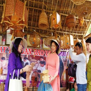 The fair for rural industrial products and craft villages to be held at Thua Thien Hue Sport Center