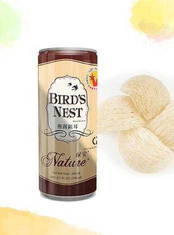 White fungus bird's nest drink