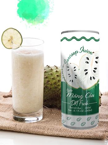 Soursop fruit juice